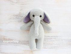 Cuddle Me Elephant - Free Amigurumi Pattern