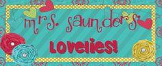 Mrs. Saunders'  Lovelies