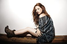 """The singer-songwriter, Ingrid Michaelson, has announced a fall U. Tour, called the """"Hell No Tour,"""" for October and November. Pretty People, Beautiful People, Beautiful Women, Ingrid Michaelson, Images Wallpaper, Thats The Way, Indie Fashion, Cool Sweaters, Celebs"""