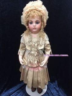 ブリュ ジューン 10号 - 懐古どぉるMicico 和洋アンティークドール専門店。人形好きなオーナーがお届けする、日本人形、西洋人形のアンティークドールショップ