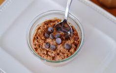 The Art of Comfort Baking: Chocolate Peanut Butter Overnight Oats