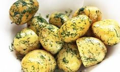 How to make Swedish potatoes with dill