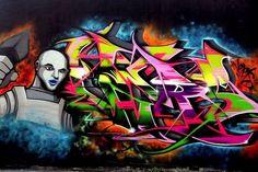alien graffiti - Google Search