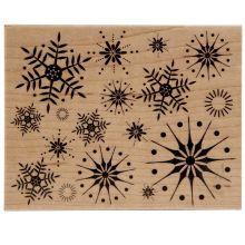 Hero Arts® Stunning Snowflakes Stamp