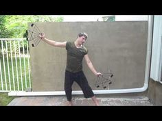 Fire Fan Tutorial - Discovered Move #1: Elliptical Hourglass - YouTube