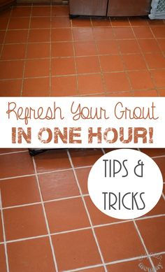 How To Refresh Your Grout in One Hour! Tips & Tricks of Grout Renew Application!