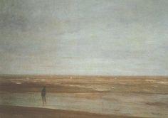 James Abbott McNeill Whistler. Sea and Rain.1865. Oil on canvas.