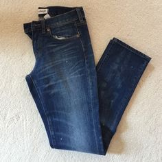 madewell slim boyjean with acid wash details size 24 worn a couple of times Madewell Jeans Boyfriend