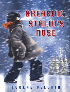 """In Breaking Stalin's Nose, 10 year old Sasha has looked forward to becoming a """"Young Pioneer"""" for his entire life. But when his father is arrested by the Soviet Secret Police, he begins to question everything he has grown up believing. This fascinating read is set in Russia, during Stalin's reign, and would be a great, hisorical fiction read for grades 5 and up."""