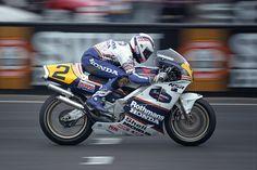 Wayne Gardner at Phillip Island Australian Grand Prix in 1989