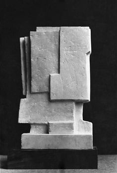 """""""Art is an action against death. It is a denial of death"""" - JACQUES LIPCHITZ - (""""Kopf"""", 1965 by Fritz Wotruba)"""