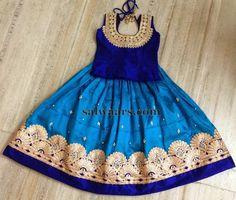 latest Fashion boat neck long frocks & lehenga designs for kids Indian Dresses For Kids, Dresses Kids Girl, Indian Outfits, Kids Outfits, Kids Dress Wear, Kids Wear, Baby Dress, Baby Lehenga, Kids Lehenga
