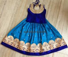 Attractive Royal Blue Skirt