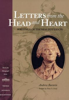 My favorite piece by Jefferson written to Maria Cosway as a conversation between his head and his heart. <3