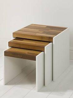 Gravitate 'Duo' Corian and Walnut Furniture