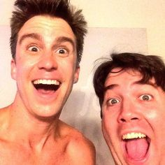 The Book of MormonさんはInstagramを利用しています:「Gavin and Chris sending love to the Latter Day cast in SLC! 」