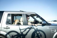 Land Rover USA Tumblr Photographer Chris McPherson takes his dog on a road-trip through Phoenix, Arizona in a Land Rover LR4. #LandRover #Phoenix #Arizona #LandRoverPets
