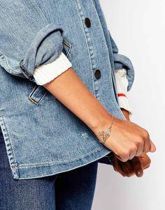 Image 3 - Vivienne Westwood - Bracelet motif orbe et lignes plates et fines