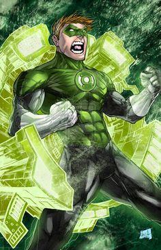 Hal Jordan - Green Lantern by Javier Avila