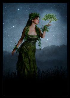 Silmarillion: Yavanna by *LadyElleth on deviantART