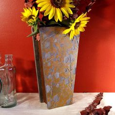 Natural Stone Vase: Aspens - $79.00