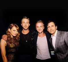 Win, Win, Win, Win. Emma Stone, Ryan Gosling, Tom Felton, Steve Carell .