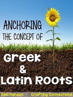 Greek and Latin Roots Anchor Chart Science Vocabulary, Science Words, Vocabulary Ideas, Vocabulary Strategies, Teaching Latin, Teaching Time, Teaching Reading, Teaching Ideas, Latin Root Words