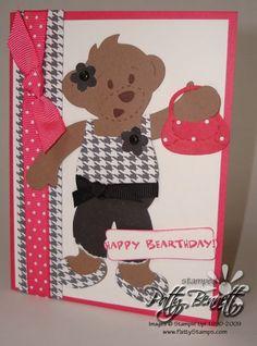 Bear pink black