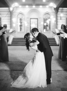 Danielle and Kyle's Timeless and Stylish Estate Wedding by Rebecca Yale | Wedding Sparrow