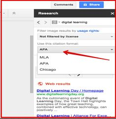 4 Important Google Docs' Features for Student Researchers ~ Educational Technology and Mobile Learning