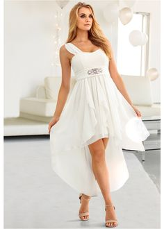 Wedding dress registry office with sleeves Prom Dresses, Formal Dresses, Wedding Dresses, Vestidos High Low, Waistcoat Men, Flirt, Ideias Fashion, Wedding Inspiration, Bikini