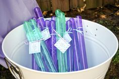 Mermaid Birthday Party - SprinkledDesigns.com - Project Nursery