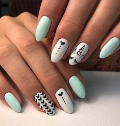 summer nails nail Best Summer Nail Designs - 35 Colorful Nail Ideas You Can Do It Yourself At Home New 2019 - Page 5 of 35 - clear crochet Spring Nail Colors, Spring Nails, Nail Summer, Winter Nail Designs, Nail Art Designs, Nails Design, Leopard Nail Designs, Salon Design, Cute Nails