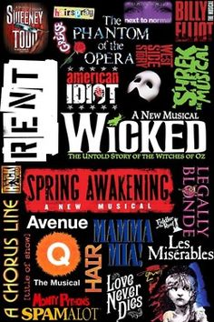 Broadway. Bonnie and Clyde should be on there