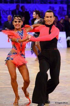 Simone Casula & Laura Marras  #RossoLatino #Testimonial #danceshoes #passion