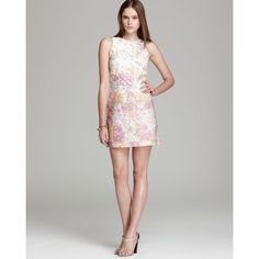 e4e0229919c Tibi Printed Denim Dress Effortless Chic