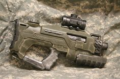 Halo-style Military Rifle by *JohnsonArms on deviantART