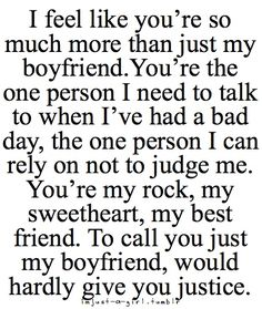 this is for my boyfriend :) my best friend   who can always make me smile & laugh you're not my boyfriend anymore, though   I wish more than anything in the world you were. But this is still you. You are   still my person and always will be. I love you and will love you forever and   always. Always.