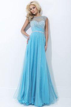 Prom dress that looks like Elsa's!!!!