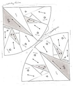 Mariner's compass pattern