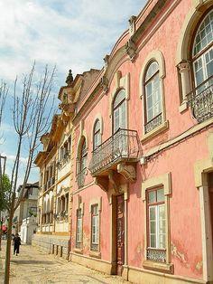 Vila Real de Santo Antonio, Algarve, Portugal. Onde ía a cada 3 meses para carimbar meu passaporte.