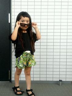 韓国子供服のトップスを使ったkiramihoさんのコーディネートです。│
