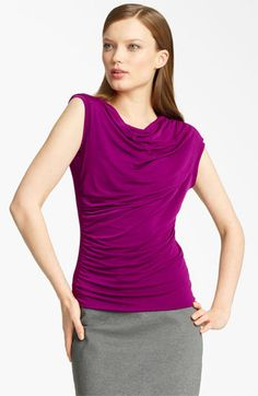 Ruched top (Theatrical Romantic Kibbe type)