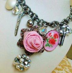 vintage jewelry upcycled by krystal