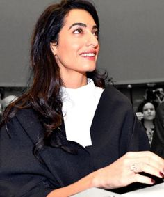 When asked about her outfit, Amal Clooney had the perfect response