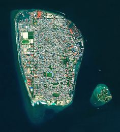 6/14/2016 Malé Republic of Maldives 41.75283°, 73.506694°  Malé is the capital and most populous city in the Republic of Maldives. With more than 47,000 residents per square kilometer (0.39 square miles), the heavily urbanized city constitutes the fifth most densely-populated island in the world. Malé and the other islands of the Maldives are located one meter (3 feet) above sea level.
