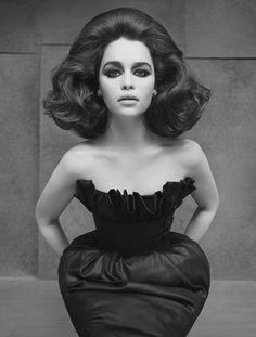 The super attractive #Emilia  BIG hair!