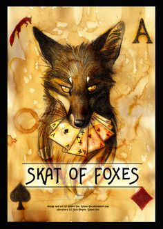 Skat of Foxes Card game by Culpeo-Fox.deviantart.com