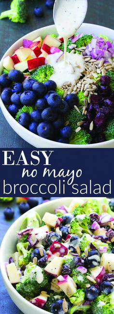200 Broccoli Salad Recipe Ideas Broccoli Salad Broccoli Salad Recipe Broccoli