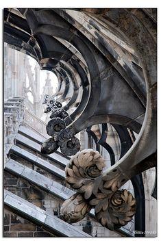 Milano - Duomo - Dettaglio #ART #architecture #Italy #Milan